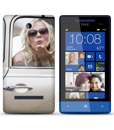 Cover HTC Windows Phone 8S personalizzata