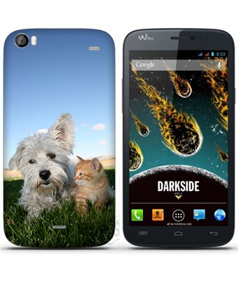 Cover Wiko Darkside personalizzata
