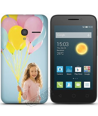 Cover Alcatel One Touch Pixi 3 (4.0) personalizzata