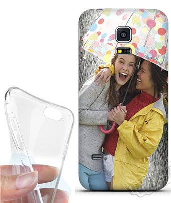 Cover morbida Samsung Galaxy S5 Mini personalizzata