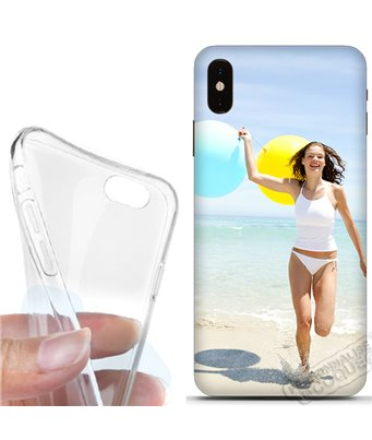 Cover morbida Apple iPhone XS Max personalizzata