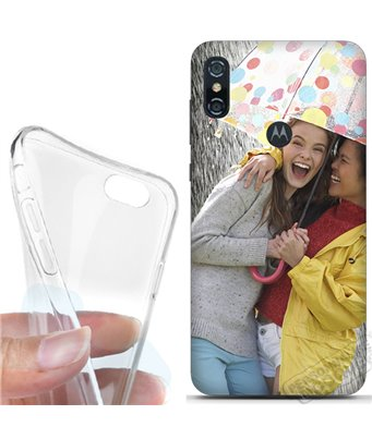 Cover morbida Motorola One P30 Play personalizzata