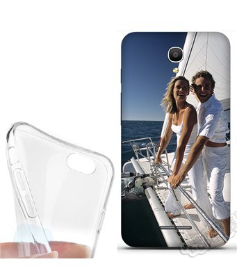 Cover morbida Alcatel Pop 4 personalizzata