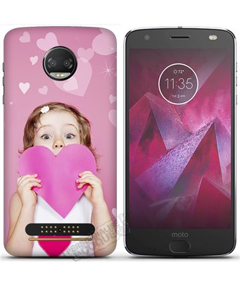 Cover Motorola Moto Z2 Force Edition personalizzata