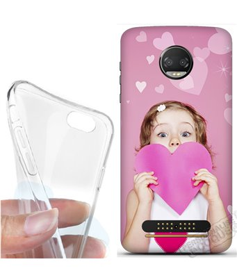 Cover morbida Motorola Moto Z2 Force Edition personalizzata
